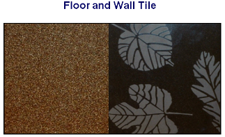Ceramext floor and wall tiles